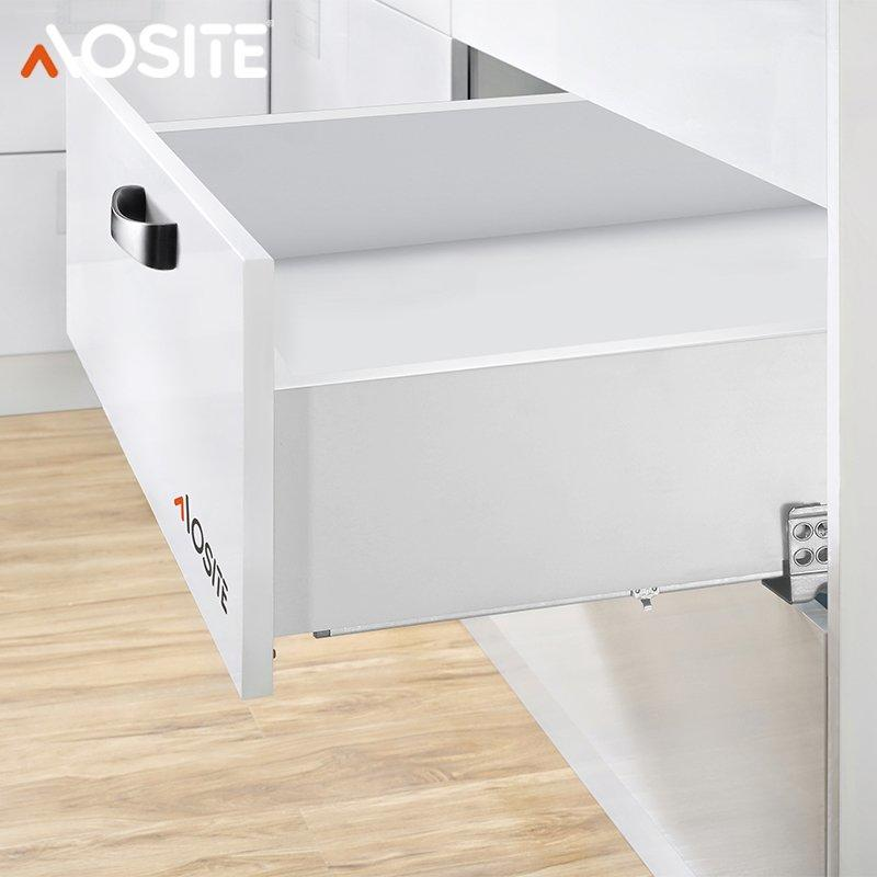 UP03  Full extension concealed damping slide