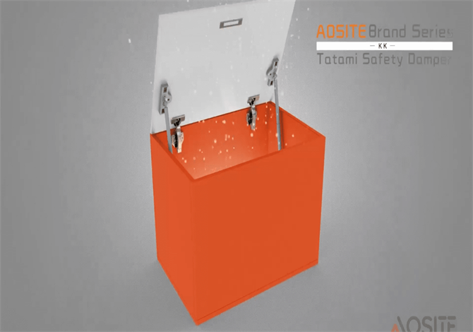Model-KK /  Tatami Adjustable Free Stop Gas Spring