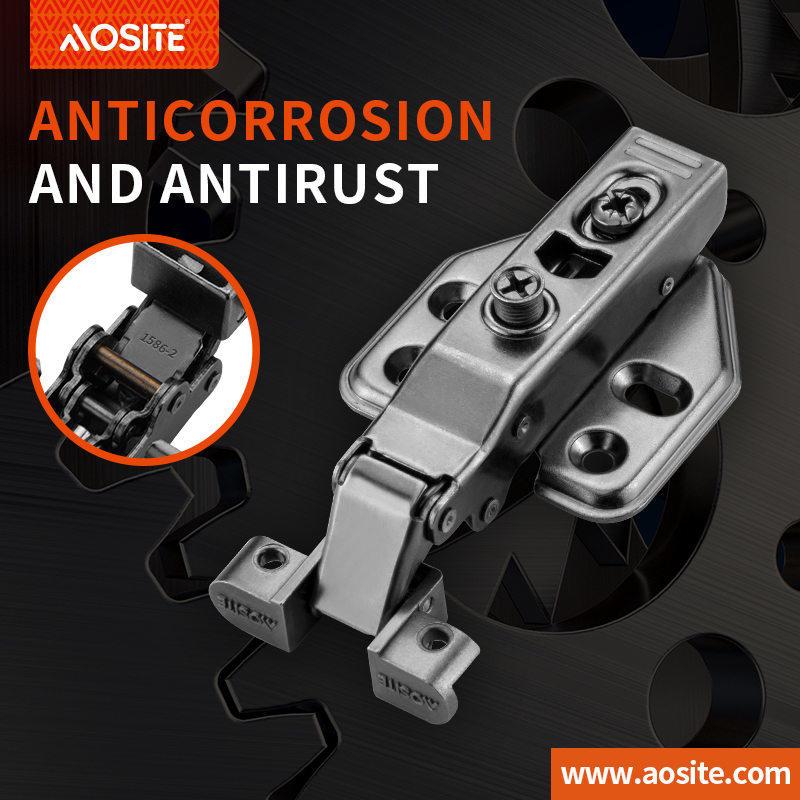 AQ88 Inseparable Aluminum soft closing Hinge Two Way