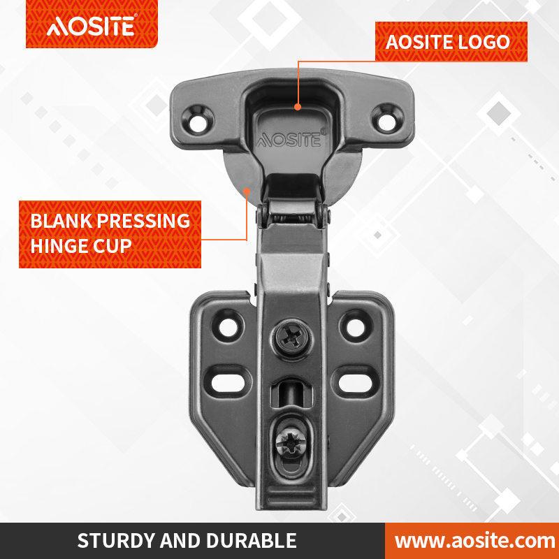 AQ86 Inseparable hydraulic damping hinge closet hinge(two way/back finish)