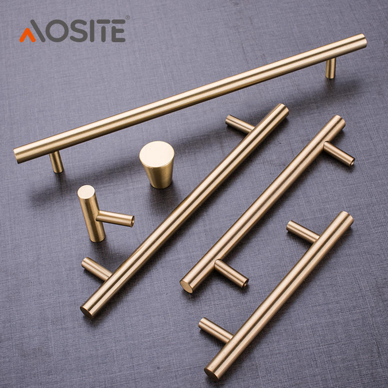 H5955 Brass Handle Cabinets Drawer Handle and Knobs